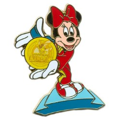 Disney Summer of Champions Pin - Minnie Mouse