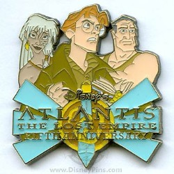 Disney Atlantis Pin - 5th Anniversary