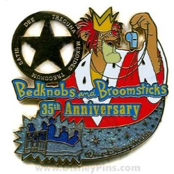 Disney Bedknobs and Broomsticks Pin - 35th Anniversary