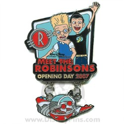 Disney Meet the Robinsons Pin - Opening Day