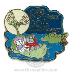 Disney The Rescuers Pin - 30th Anniversary