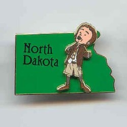 Disney State Program Pin - North Dakota