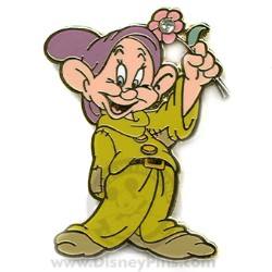 Disney Dwarf Flower Pin - Dopey