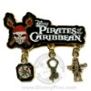 Disney Pirates Pin - Multi-Dangle - Animated