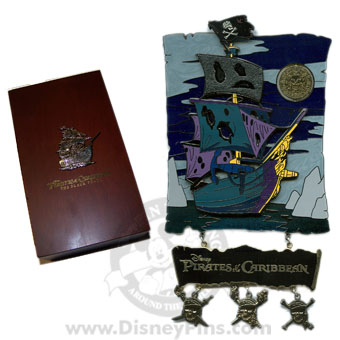 Disney Super Jumbo Pin - Pirates of the Caribbean - The Black Pearl