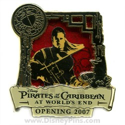 Disney Pirates of the Caribbean Pin - Countdown #2 - Will Turner
