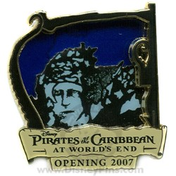 Disney Pirates of the Caribbean Pin - Countdown #5 - Boot Strap Bill