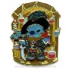 Disney Pirates Pin - Stitch as Captain Barbosa