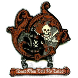 Disney Pirates Pin - Dead Men Tell No Tales