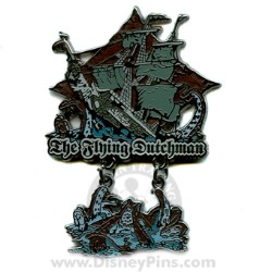 Disney Pirates Pin - The Flying Dutchman