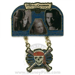 Disney Pirates of the Caribbean Pin - At World's End - DVD Release