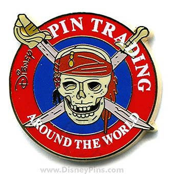 Disney Pirates Pin - Buried Treasure