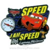 Disney Jumbo Pin - Featured Artist Collection 2007 - I Am Speed