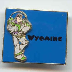 Disney Buzz Pin - State Program - Wyoming