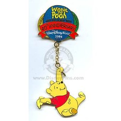 Disney Pooh Pin - 40th Anniversary