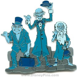 Disney The Haunted Mansion Pin - Hitchhiking Ghosts