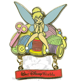 Disney Tinker Bell Pin - Needlework