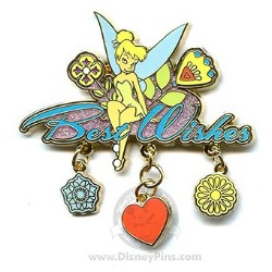 Disney Tinker Bell Pin - Best Wishes