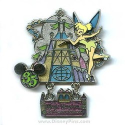 Disney Tinker Bell Pin - 35 Magical Years - Magic Kingdom Park