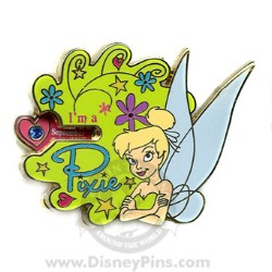 Disney Tinker Bell Pin - Birthstone Spinner