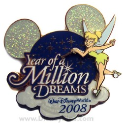 Disney Year of a Million Dreams 2008 - Logo