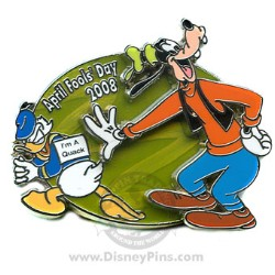 Disney April Fools' Day Pin - I'm a Quack