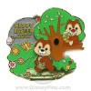 Disney Easter Pin - Chip and Dale - Cute Characters
