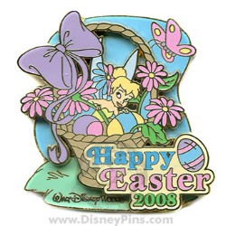Disney Happy Easter Pin - Tinker Bell