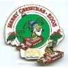 Disney Merry Christmas Pin - Animal Kingdom - Jiminy Cricket