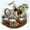 Disney Christmas Pin - Holidays Around The World - Mickey & Friends