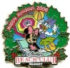 Disney Resort Christmas Wreath Pin - Beach Club Resort