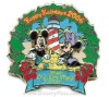 Disney Resort Christmas Wreath Pin - Old Key West Resort