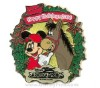 Disney Resort Christmas Wreath Pin - Saratoga Springs Resort & Spa