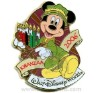 Disney Kwanzaa Pin - Mickey Mouse