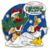 Disney Very Merry Christmas Party 2006 Pin - Donald and Daisy