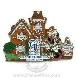 Disney Resort Pin - Grand Floridian - Gingerbread House