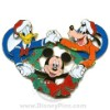 Disney Jumbo Pin - Celebrating Fifty Years - Christmas Wreath
