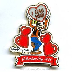 Disney Valentine's Day Pin - To My Valentine - Goofy