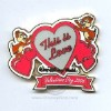 Disney Valentine's Day Pin - To My Valentine - Chip and Dale