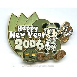 Disney Happy New Year Pin - Animal Kingdom