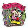 Disney New Year's Day Pin - Mickey and Minnie Mouse