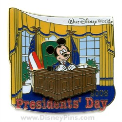 Disney Presidents' Day Pin - Mickey Mouse