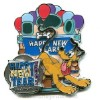 Disney New Year's Pin - Pluto