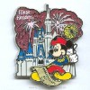 Disney Independence Day Pin - Magic Kingdom Park - Mickey Mouse 2006