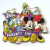 Disney Parent's Day Pin - The Gang