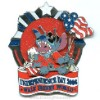 Disney Jumbo Pin - Independence Day - Stitch