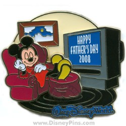 Disney Happy Father's Day Pin - Mickey Mouse
