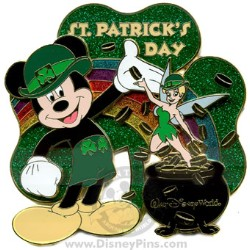 Disney St. Patrick's Day Pin - Jumbo
