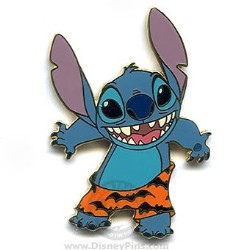 Disney Halloween Pin - Stitch Boxer Shorts with Bats