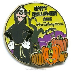 Disney Happy Halloween Pin - 2006 - Goofy
